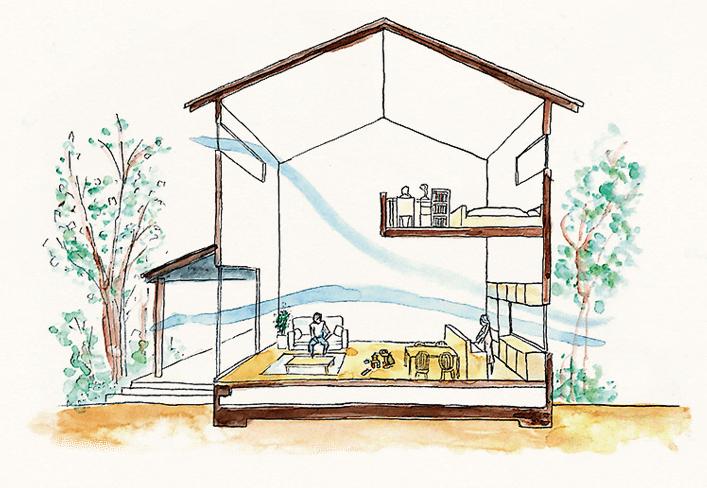 自然素材と断熱にこだわった健康住宅