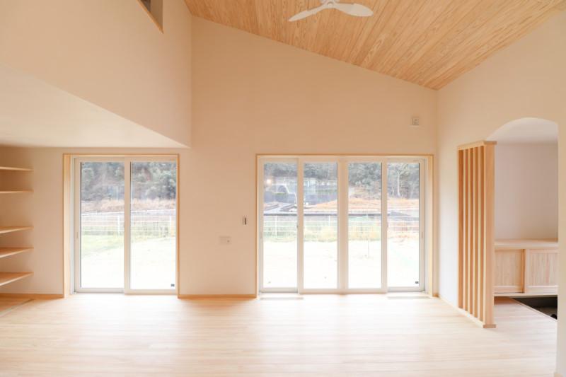 竹原平屋の家
